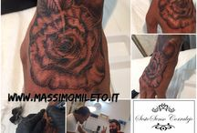 Body Tattoo Free Hand