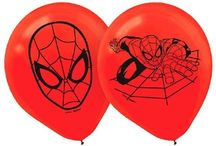 Spider-Man Themed Birthday Party / Decorate for your son or daughters birthday party in fun and exciting Spider-Man decorations and party supplies. Let PartyCheap make you son or daughters birthday one to remember!