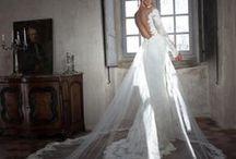 Tarik Ediz White Bridal Gowns / Tarik Ediz Dresses at Bella's
