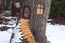 Tree caving ideas