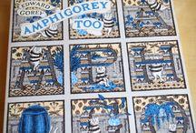 """Check out Edward Gorey's """"Amphigorey Too"""" Book Art & Interiors"""