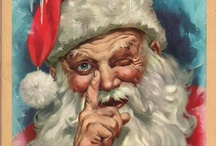 Jolly Old Santa Claus by George Hinke