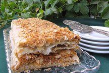 Торт Mille Feuilli Наполеон