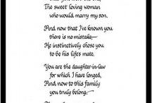 Wedding poems