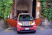 Chic Maker ♥ Yarn bombing