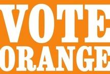 Vote Orange / I Love Orange!!!!! / by Henderson Ricardo