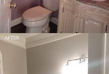 baño pintado