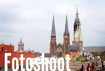 Kruisstraat 82 - Delft / Eigen parkeerplaats, midden in het centrum, luxe 3 kmr appartement op topetage met patio