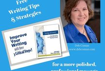 Writing, Editing, & Strategy Resources / Tips, strategies, and resources for writing, editing, and content marketing.