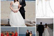Candida Allison : Real Weddings / Real weddings : Bridal & Bridesmaid