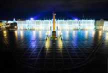 St. Petersburg. Night / Night Saint-Petersburg