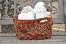 Hooking--Baskets
