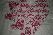 My cross stitch / i miei lavori a punto croce