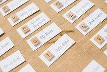 Wedding Place Name Cards / Escort cards