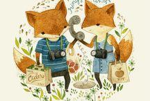 Illustration / by Anastasia Selchuk