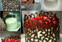 decoracion con chocolate