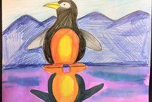 dieren tekenen / tekenles