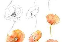 Malování Květin