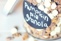 Food - Granola / by Jamie @ Love Bakes Good Cakes