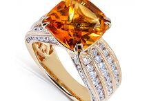 Citrine: November's Birthstone / Citrine Jewelry From Kobelli / by Kobelli.com
