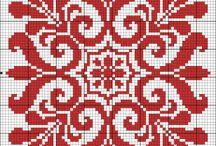 Σταυροβελονιά - Μοτίβα