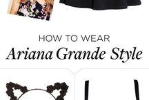 Ariana grande / Moda vida maquiagem