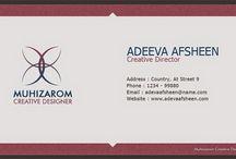 Free PSD Clean Creative Business Card