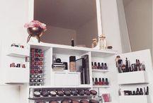 Organización de maquillaje