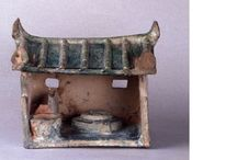 Chinese funerary house models