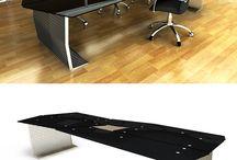 Office Desks - 3D Grating by Cobermaster Concept