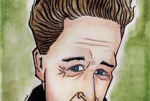 portre karikatür / karikatür çizim