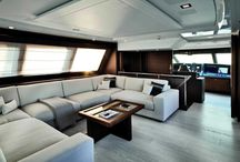 Custom Line Yacht Interior Design / Discover the Interior Design on the Custom Line Yacht