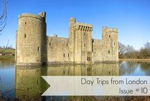 Day trips from London / Day trip destinations that you can visit from London either by car or train.