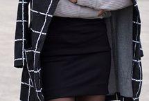 coat +skirt