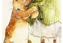 Art, vintage Ilustraciones mice MCL