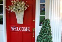 WELCOME DOOR