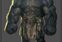 trolls, ogres and giants