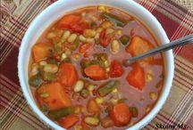Slow Cooker vegetable  soups