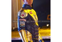 Booster Gold Costume Leather Jacket / Get this stylish Eric Martsolf Booster Gold Jacket at most cheap price from Sky-Seller and avail free Shipping.