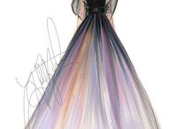 design dress drawing