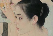 peinture chinoise contemp