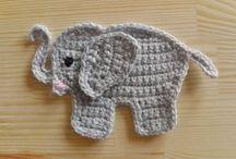 Crochet appliqué