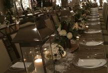 Darryl & Co. - Winter Lodge Inspired Rehearsal Dinner / WINTER LODGE INSPIRED REHEARSAL DINNER Decor by Darryl & Co.