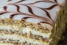 pasta ve tatlı