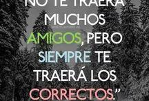 Frases de Amistad en español