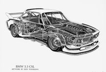 Structural view of cars