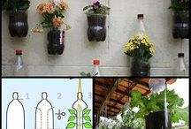 Plastic bottle recycle idea