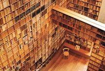 a reader's paradise / Book nooks, libraries, literary cafés...