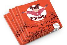 Etenko y los patines maraviosos / Etenko y los patines maravillosos / Textos: Vicente García Oliva / Ilustraciones: Ester Sánchez Formato: 21x22 / Encuadernación: Tapa dura / ISBN: 978-84-92964-92-5 / Páginas: 40