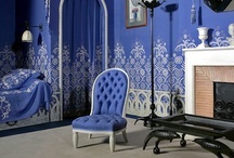 Blue and White Bedrooms / by Fran Gremaud